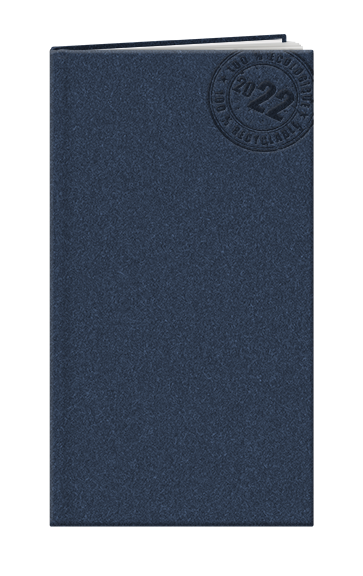 """Agenda personnalisable écologique """"ECO"""" Made in France (95 x 165 mm)"""