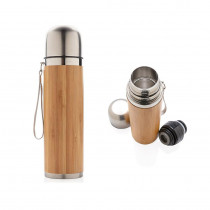 Bouteille Isotherme Inox 400 ML - Bambou