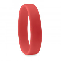 Bracelet silicone 'Event' Rouge